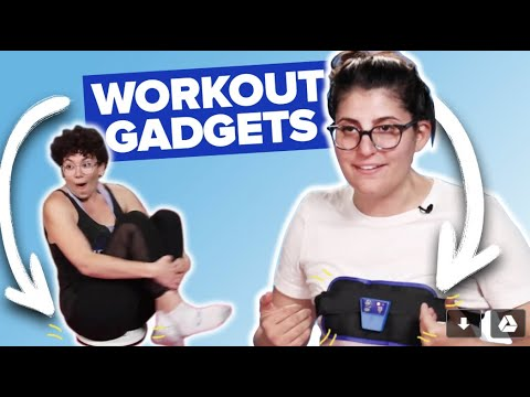 Lazy Women Try As-Seen-On-TV Workout Gadgets