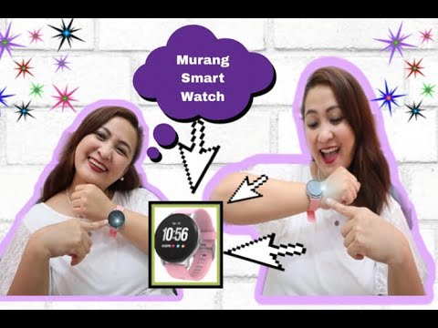 MURANG SMART WATCH: COOL AFFORDABLE GADGETS AMAZON: YOYOFIT SMART WATCH PRODUCT REVIEW!💜