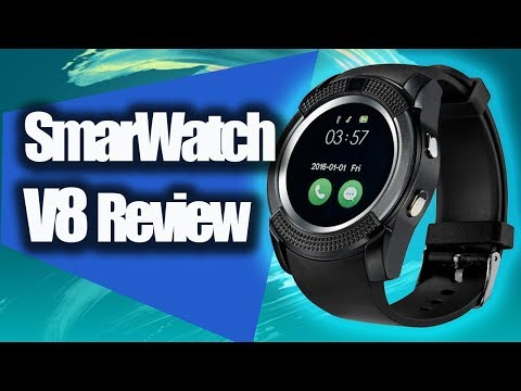 SMARTWATCH V8 RELOJ CELULAR REVIEW