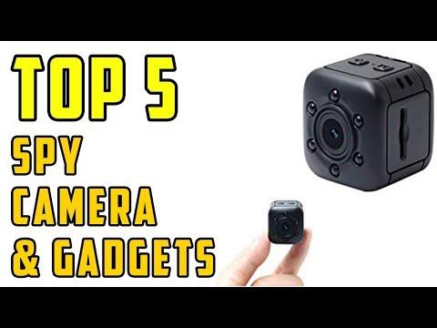 Top 5 Best Spy Camera & Spy Gadgets on Amazon 2019