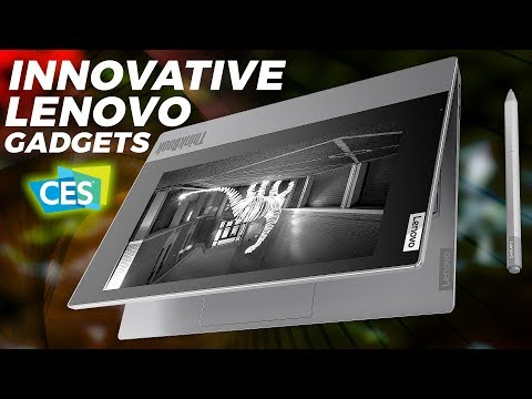 World's First 5G PC, a Foldable Laptop, and Other Cool Lenovo Gadgets