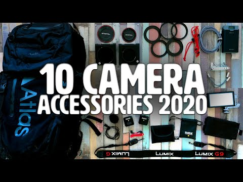 TOP 10 Camera Accessories for 2020!