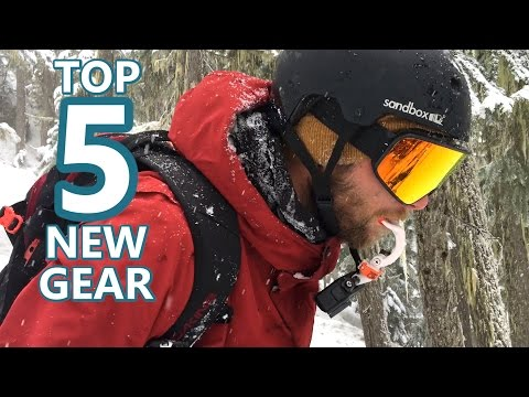 Top 5 Snowboard Tech & Accessories this Month